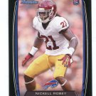NICKELL ROBEY 2013 Bowman BLACK SP #201 ROOKIE Bills USC Trojans