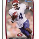QUINTON PATTON 2013 Bowman #131 ROOKIE 49ers LOUISIANA TECH