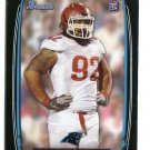 STAR LOTULELEI 2013 Bowman BLACK SP #168 Carolina Panthers UTAH Utes