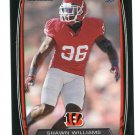 SHAWN WILLIAMS 2013 Bowman BLACK SP #149 ROOKIE Bengals GEORGIA Bulldog Quantity
