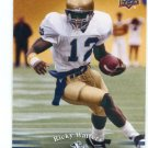 RICKY WATTERS 2013 Upper Deck UD Collectible #50 Notre Dame Irish EAGLES RB