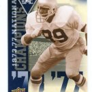 ROSS BROWNER 2013 Upper Deck UD Collectible #NC-RB INSERT Notre Dame Irish DE