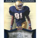 TIM BROWN 2013 Upper Deck UD Collectible All-Time Alumni #ATA-TB INSERT Notre Dame Irish HEISMAN