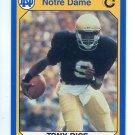 TONY RICE 1990 Notre Dame Collegiate Collection #21 Notre Dame Irish QB