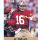 JOE MONTANA 1990 Pro Set #293 SF 49ers NOTRE DAME Irish QB