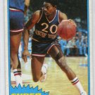 MICHAEL RAY RICHARDSON 1981-82 Topps Super Action #109 New York NY Knicks