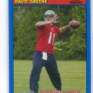 DAVID GREENE 2005 Topps Bazooka BLUE SP #178 Seahawks GEORGIA Bulldogs QB