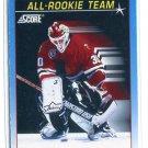 ED BELFOUR 1991 Score All-Rookie Team #378 Chicago Blackhawks
