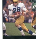 ROCKY BLEIER 2011 UD College Football Legends #33 STEELERS Notre Dame Irish