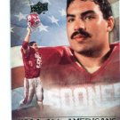 TONY CASILLAS 2011 UD College Football Legends All-Americans INSERT Oklahoma Sooners
