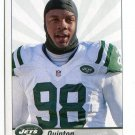 QUINTON COPLES 2013 Panini Sticker #58 New York NY Jets NORTH CAROLINA UNC Tar Heels