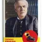 THOMAS EDISON 2009 Topps Heritage #41 Inventors