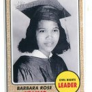 BARBARA ROSE JOHNS 2009 Topps Heritage #55 Civil Rights Leader