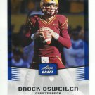 BROCK OSWEILER 2012 Leaf Draft BLUE #7 ROOKIE Arizona State Sundevils BRONCOS QB