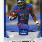 DOUG MARTIN 2012 Leaf Draft BLUE #16 ROOKIE Boise State Broncos TB BUCS Tampa Bay Buccaneers RB