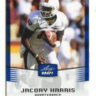 JACORY HARRIS 2012 Leaf Draft BLUE #22 ROOKIE Miami Canes HURRICANES Eagles QB