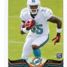 MIKE GILLISLEE 2013 Topps #192 ROOKIE Dolphins FLORIDA Gators