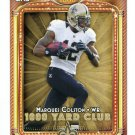 MARQUES COLSTON 2013 Topps 1000 Yard Club INSERT Saints