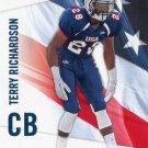 TERRY RICHARDSON 2012 Upper Deck UD USA Football #45 Michigan Wolverines CB