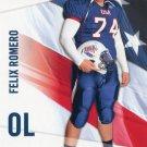 FELIX ROMERO 2012 Upper Deck UD USA Football #16 Texas State OL