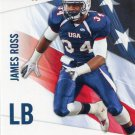 JAMES ROSS III 2012 Upper Deck UD USA Football #27 Michigan Wolverines LB