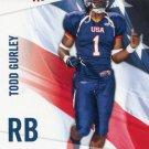 TODD GURLEY 2012 Upper Deck UD USA Football #47 ROOKIE Georgia Bulldogs RAMS