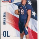 BRIAN GAIA 2012 Upper Deck UD USA Football #6 Penn State Nittany Lions OL