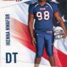 IKENNA NWAFOR 2012 Upper Deck UD USA Football #24 Stanford Cardinal DT