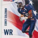 COREY COLEMAN 2012 Upper Deck UD USA Football #12 ROOKIE Baylor Bears BROWNS WR