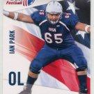 IAN PARK 2012 Upper Deck UD USA Football #22 Northwestern Wildcats OL