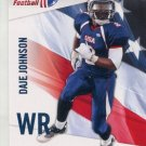 DAJE JOHNSON 2012 Upper Deck UD USA Football #14 Texas Longhorns WR