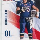 BOONE FELDT 2012 Upper Deck UD USA Football #4 North Texas OL