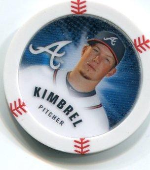 CRAIG KIMBREL 2013 Topps MLB Chipz Glow In The Dark SP Atlanta Braves