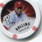 JIMMY ROLLINS 2013 Topps MLB Chipz Philadelphia Phillies