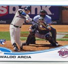 OSWALDO ARCIA 2013 Topps Update #US317 ROOKIE New York NY Mets