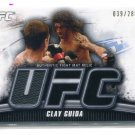 CLAY GUIDA 2010 Topps UFC Event-Used Octagon MAT RELIC #d/288