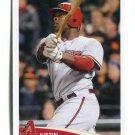 JUSTIN UPTON 2012 Topps MLB Sticker #259 Diamondbacks BRAVES