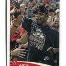 JUSTIN UPTON 2012 Topps MLB Sticker #306 Diamondbacks BRAVES