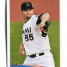 JOSH JOHNSON 2012 Topps MLB Sticker #167 Marlins