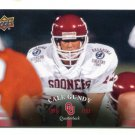 CALE GUNDY 2011 UD College Football Legends #54 Oklahoma Sooners QB