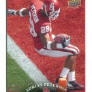 ADRIAN PETERSON 2011 UD College Football Legends #72 Oklahoma Sooners VIKINGS