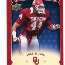 BRIAN BOSWORTH 2011 UD College Football Legends All-Americans INSERT Oklahoma Sooners SEAHAWKS