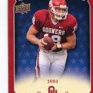 JASON WHITE 2011 UD College Football Legends All-Americans INSERT Oklahoma Sooners 2003 Heisman QB