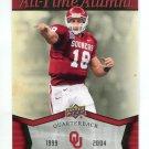 JASON WHITE 2011 UD College Football Legends All-Time Alumni INSERT Oklahoma Sooners QB