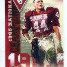 BRIAN BOSWORTH 2011 UD College Football Legends National Champions INSERT Oklahoma Sooners SEAHAWKS