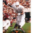 JAMES BROWN 2011 UD College Football Legends #64 Texas Longhorns QB