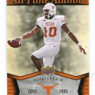 VINCE YOUNG 2011 UD College Football Legends All-Time Alumni INSERT Texas Longhorns TITANS QB