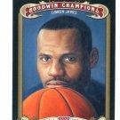 LeBRON JAMES 2012 Upper Deck UD Goodwin Champions #118 Miami Heat