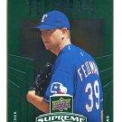 SCOTT FELDMAN 2010 Upper Deck UD Supreme GREEN EMERALD SP INSERT #S-48 Texas Rangers