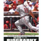 RAUL IBANEZ 2010 Upper Deck UD Biography INSERT #SB-55 Philadelphia Phillies